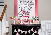 Pizza Party Fun Time / Adult and kid themed pizza party / by Mary Johnson