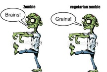 Quorny Funnies / Funny, Quorny comics about vegetarians and food from around the internet.