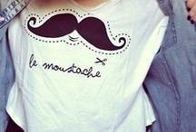 le moustache..
