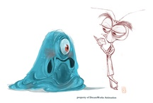 Art of Monsters vs Aliens