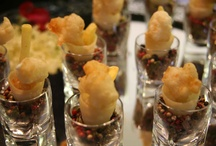 Canapé ideas / As caterers we love to find exciting and new  ways to keep our canapés different, here we have come across some fun ideas!