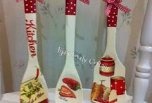 christmas spoon ormanments & crafts
