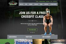 Fitness Web Design / Here you will find a board full of the most compelling web designs in the fitness industry. Focusing on driving your member and customer base.