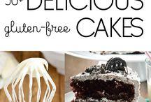 Gluten free cakes, desserts