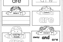 First grade teacher sight words