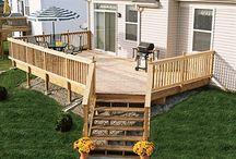corner deck ideas