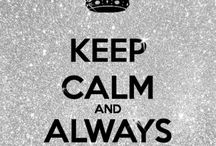 What to Keep Calm