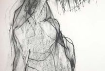 Charcoal drawings / Charcoal drawings by the best