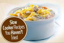 Crockpot meals~ / by Jennifer Kapus