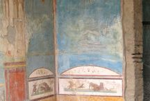 frescoes of Pompeii