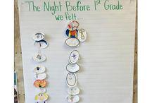 First week of first grade