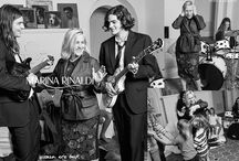 """Marina Rinaldi FW15 Adv Campaign / Marina Rinaldi stays true to its own identity - that of a brand dedicated to real, joyful, self confident women - and for the third season in a row commits its image to a claim that has now turned into a declaration of intent: """"Women Are Back!"""""""