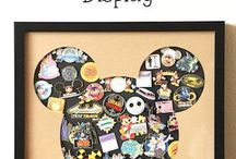 Disney Pins Display Idea