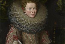 women's portraits 1600-1625