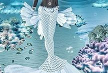 Magical 4: Mermaid and other sea creatures