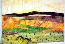 My Art:  Textured Landscapes / Landscape designs by Annette Ornelas