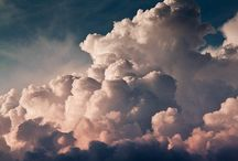 the clouds in the sky / by yen nguyen