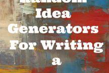idéer för skrivande
