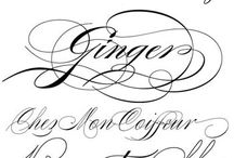 Alphabet tatto