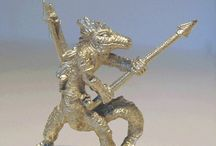 miniature - lizardmen and water denizens
