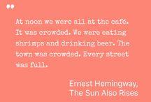 Favorite Fiction Quotes