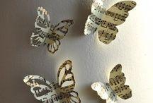 Motyle z gazety