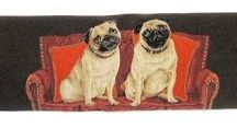 Dog Design Draught Excluders / A range of dog themed draught excluders featuring many different breeds of dogs.