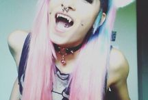 Circle lenses, fangs, other things