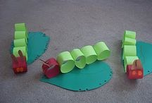 Hungry Caterpillar Crafts / by THE LEARNING BUS Language Centre & Bookshop