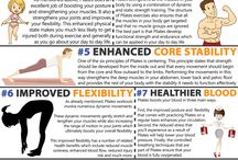Pilates og Yoga / work-out inspiration