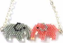 Állatok gyöngyből brick, peyote, egyéb