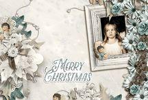 Christmas Angels d'Angelique Scraps