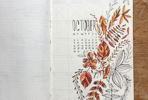 BULLET JOURNAL IDEAS & ACCESSORIES / Pics of nifty bullet journal ideas, layouts and accessories