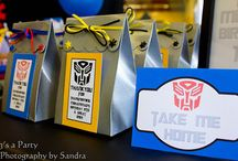 transformers party / by Kelly Quintero