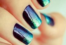 Nails colours-nail art