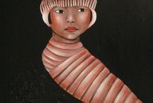 Asia / Abstract Figurative Fine Art
