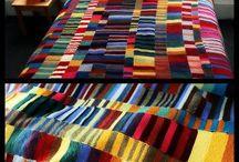 ideias pra colcha de lã