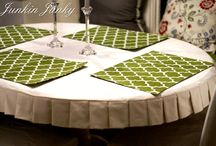 Sewing: Drop Cloth projects