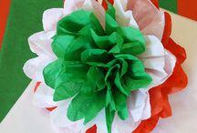 nemzeti színű virág