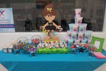 Birthday Party - Gymnastics / by Nifty Thrifty  Family