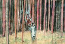 Anselm Kiefer   EXPOSITION / L'exposition, inédite par son ampleur et sa sélection, que le Centre Pompidou consacre à l'oeuvre d'Anselm Kiefer propose une traversée rétrospective du parcours prolifique du célèbre artiste allemand, de la fin des années 1960 à nos jours.