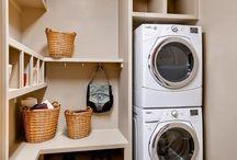 Úložné prostory - prádelna