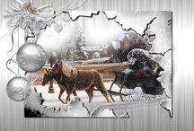 Vánoční přání / všem co potřebují poslat přání