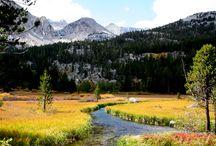 Autumn in the eastern Sierra