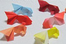 金魚折り紙
