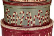 Cajas, cajitas... / Cajas de lata