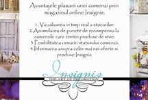 Informatii Insignis! / Informatii referitoare la site-ul online Insignis!