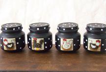 frascos decorativos