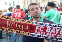 Invasione dei tifosi del Bayern Monaco a Piazza di Spagna  21 Ottobre 2014