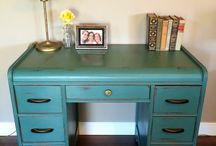 Painted New / My creations with paint to give new life to furniture, decor, and home accessories / by Rachel Ziehnert